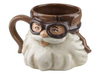 """Tasse """"Biker Santa Sculpted Mug"""""""