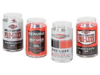 """Gläser 4er Set """"Oil Can"""""""