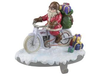 """Aufsteller """"2020 Biker Santa Stocking Holder"""""""