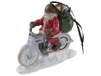 """Anhänger """"2020 Biker Santa Ornament"""""""