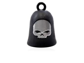 "Ride Bell ""Black Matte Skull"""