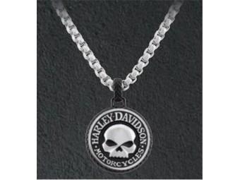 "Halskette ""Steel Double Sided Rolo Chain Skull"""