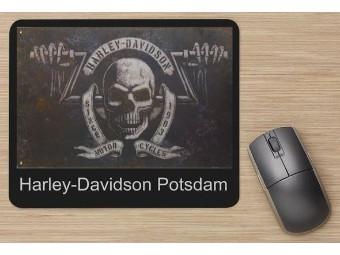 """Mousepad """"Skull HD Potsdam"""