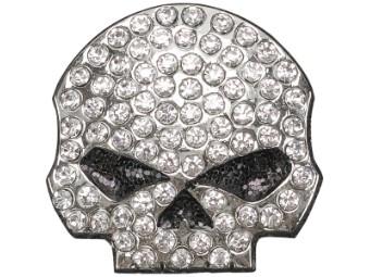 """Pin """"Studded Skull"""""""