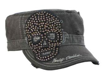"Painters Cap ""Studded Star Skull"""