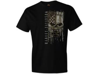 """T-Shirt """"Skull Patriot"""""""
