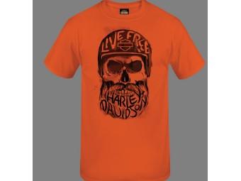 """T-Shirt """"Inscribed Skull"""""""