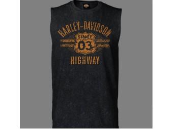 """Muscle Shirt """"H-D Highway"""""""