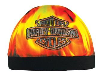 "Skull Cap ""Hell Fire & Flames"""