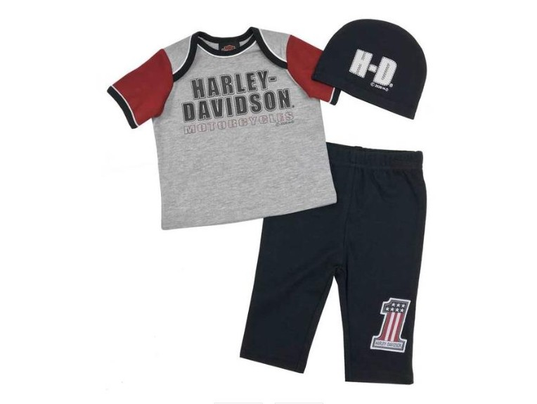 2551009/3-6MONATE, Baby Boys' H-D Newborn 3-piece Gift