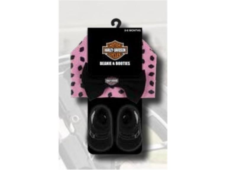 7000881, Baby Girl Beanie&Booties Set