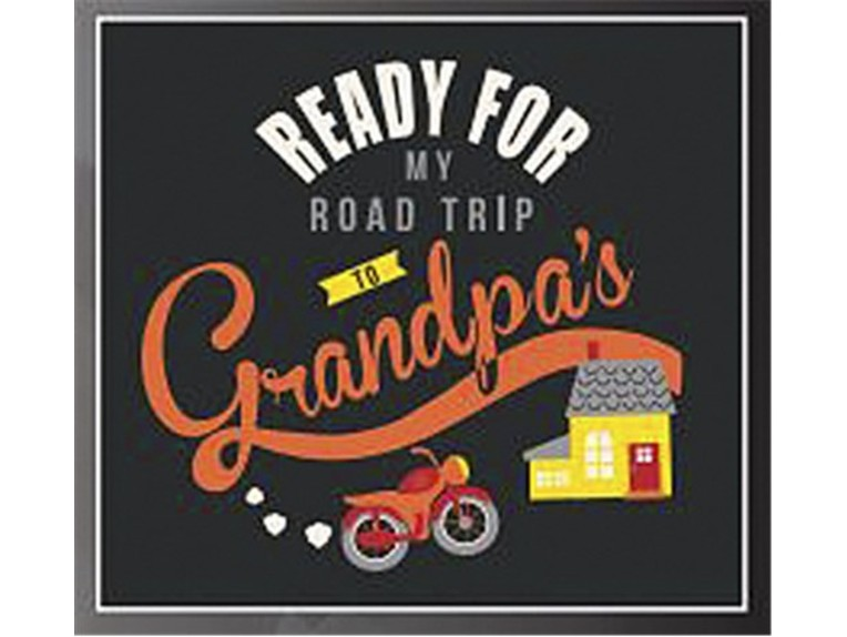 "99844-GRY, Reisetrolley ""Grandpa"""