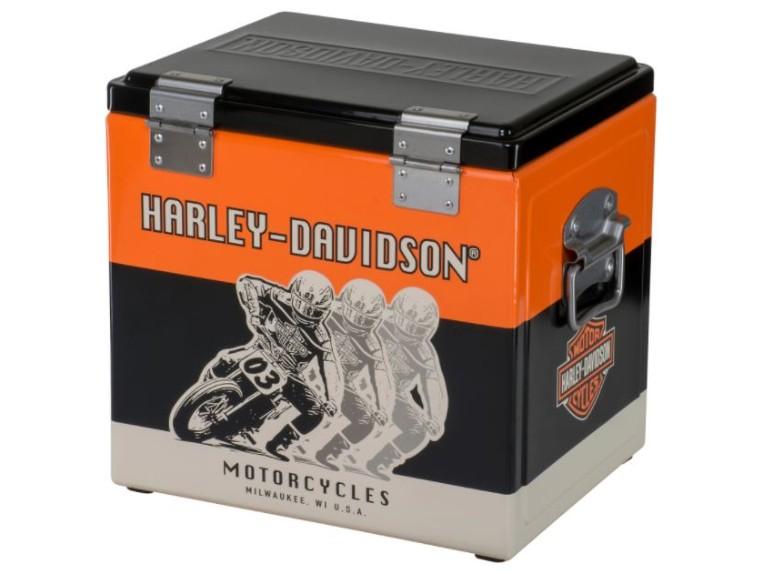 "HDL-18599, Metal Cooler ""Racing Metal"""