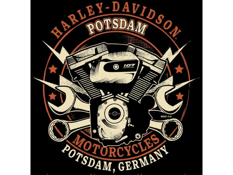 "R004024/M, Herren T-Shirt ""Gen Stamp"""