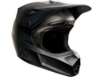 Youth V3 Matte Black Helmet 17
