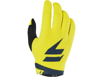 Youth Whit3 Air Glove - yellow/navy