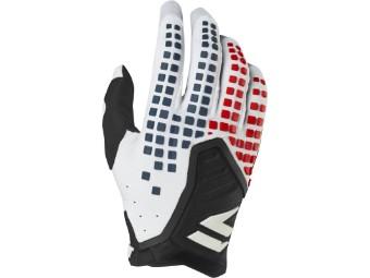 3lack Pro Glove - white / black