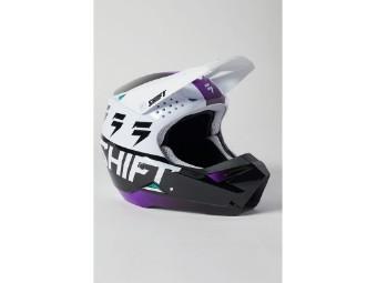Shift Youth White Label UV Helmet 21