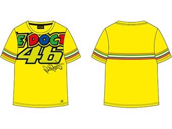 Kids T-Shirt Stripes Yellow