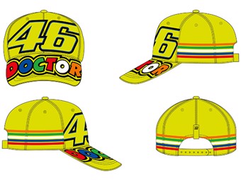 Cap Stripes Fluo Yellow