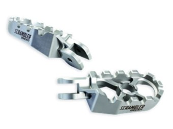 Paar Fußrasten aus Aluminium Ducati Scrambler
