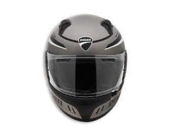 Ducati Helm Black Steel