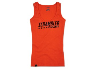 Shirt Ducati Scrambler Orange