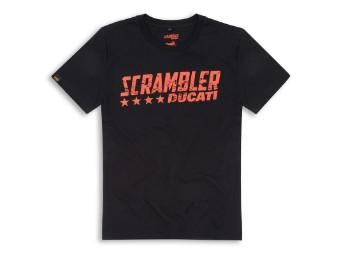Shirt Ducati Scrambler BlackFlip