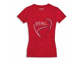 T-Shirt Heart Beat - Damen