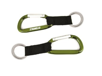 SCRAMBLER SNAP KEY RING
