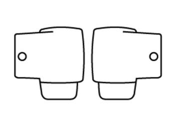 Racing Brille Roll-Off Kanister 50mm Set