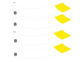 Felgenaufkleber 401 Svartpilen / Vitpilen