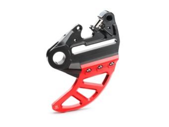 Bremssattelträger mit Bremsscheibenschutz MC 250 / 350F