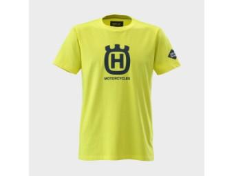 Replay Husqvarna T-Shirt gelb