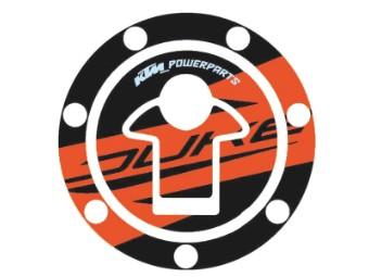 Kraftstofftankdeckel-Aufkleber 125-390 Duke