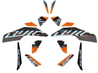 Style-Grafikkit 125-390 Duke