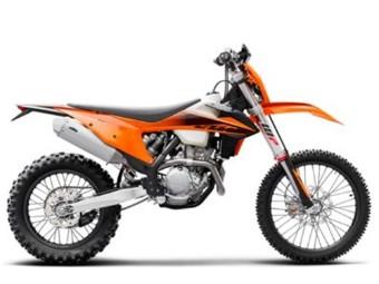 350 EXC-F Model Bike