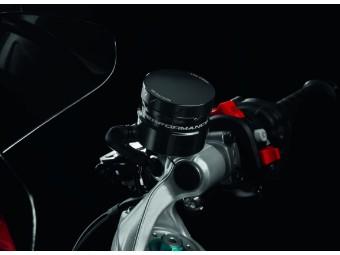 Bremsflüssigkeitsbehälter Ducati SuperSport/S ab 2017 ALU Rot