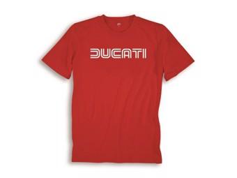 T-Shirt Ducatina 80S rot