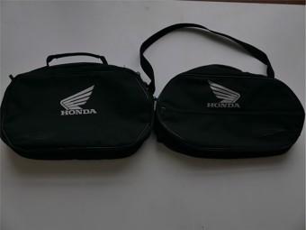 Innentaschen Honda Seitenkoffer Deauville 650/NC 750S 21-33 Liter Schwarz