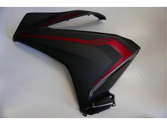 Verkleidung Honda links Schwarz-Matt