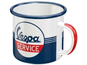 Tasse Vespa Service Stahlblech