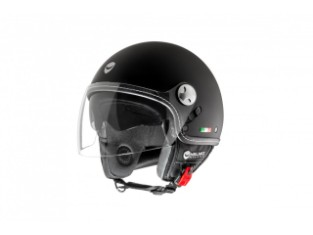 Jet-Helm Helmo Milano Eos Schwarz Matt