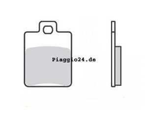 BREMSBELAGSATZ C01-C11-C16-C25