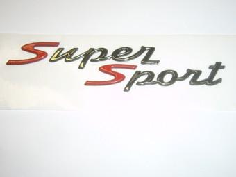 """Schriftzug """"Super Sport"""" Vespa GTS"""