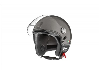 Jet Helm Helmo Milano Eos Grau Metallic
