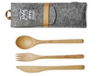 Besteckset - Bambus