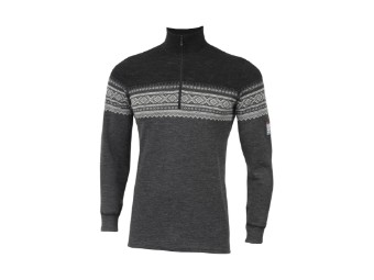Marius Mock Neck Wzip Men