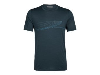 Mens Tech Lite SS Crewe Single Line