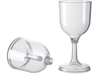 Weinglas, schraubbar